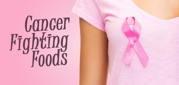 Read about cancer fighting foods - article by Nancy Rishworth, Nutritionist